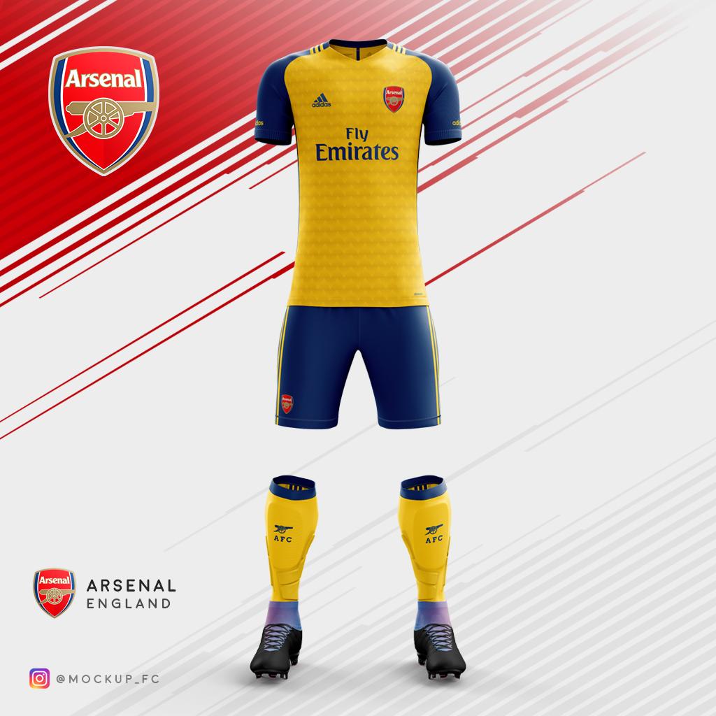 c0b263199d7 Arsenal x Adidas - Away Kit