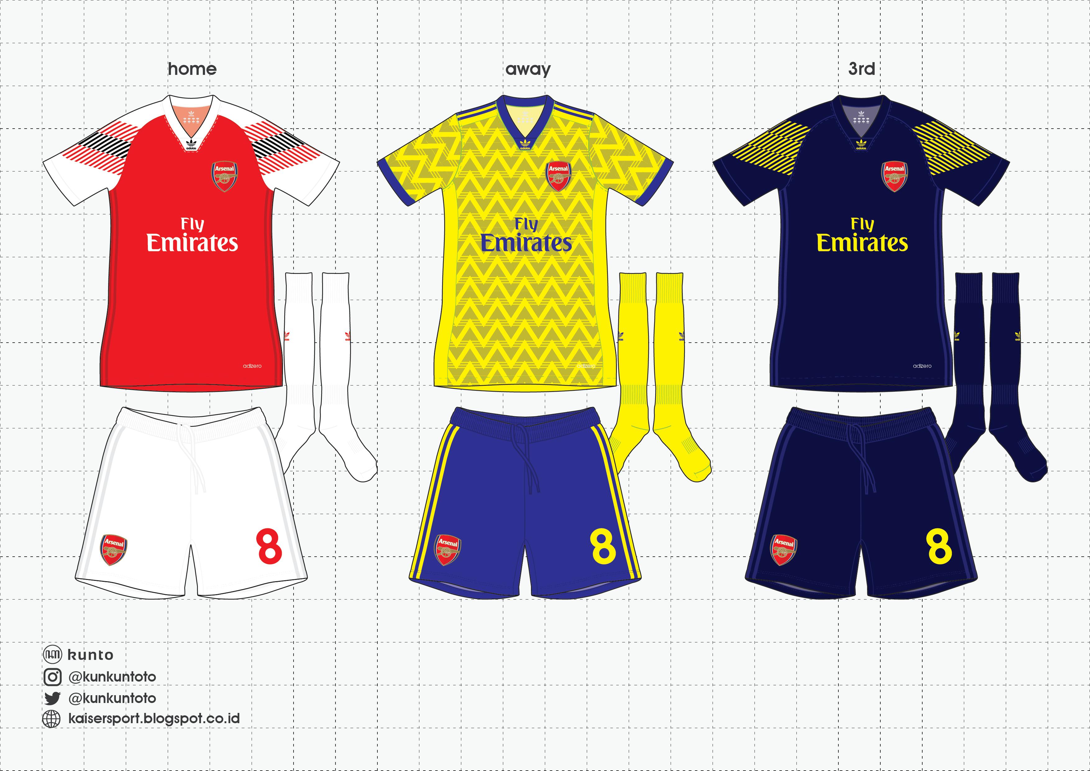 excepcional gama de estilos y colores fábrica límpido a la vista Arsenal x Adidas 2019-20