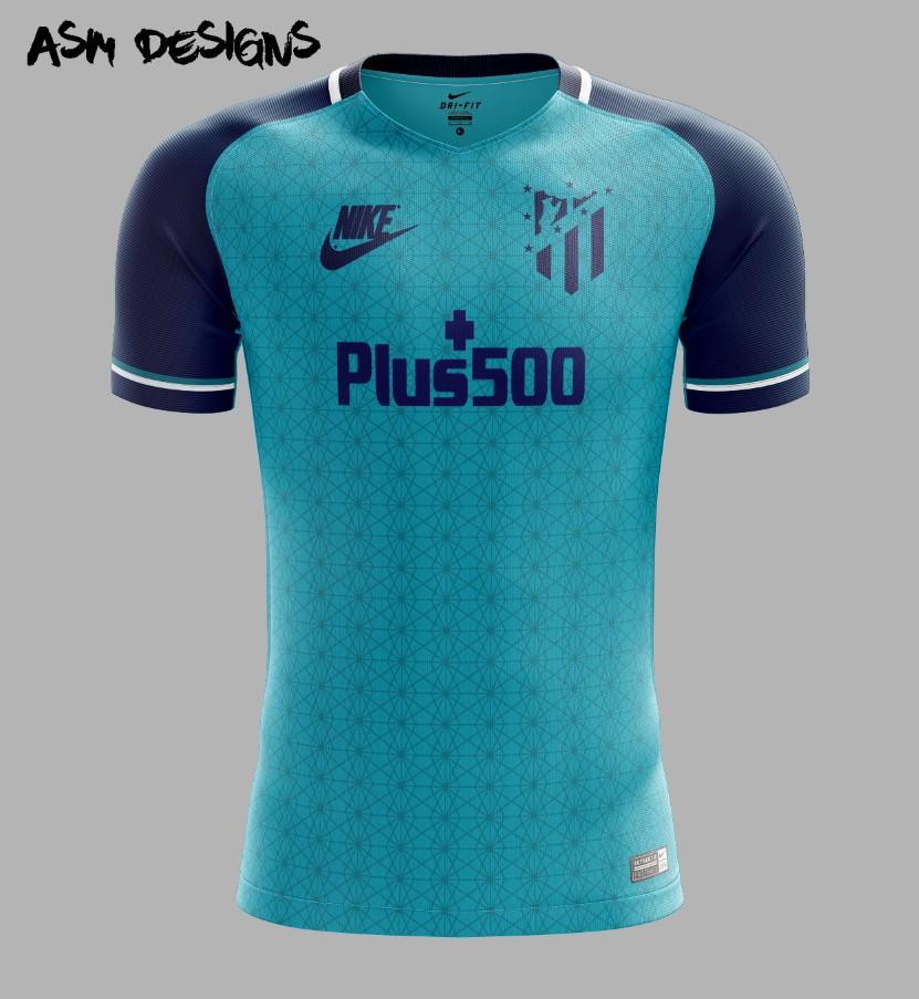 4273c04fd Atlético Madrid Nike 2018 Away Kit