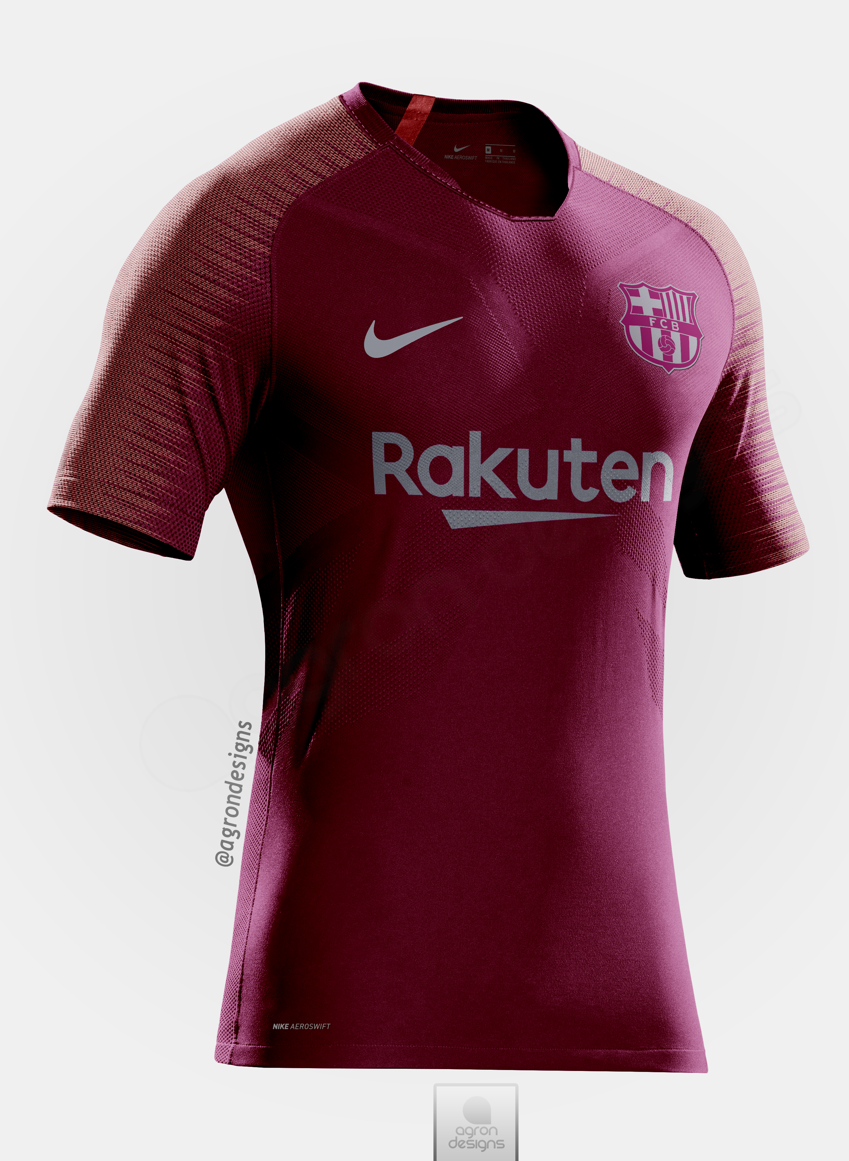 the best attitude f852b 439a1 Barcelona 2018-19 Third Kit Prediction