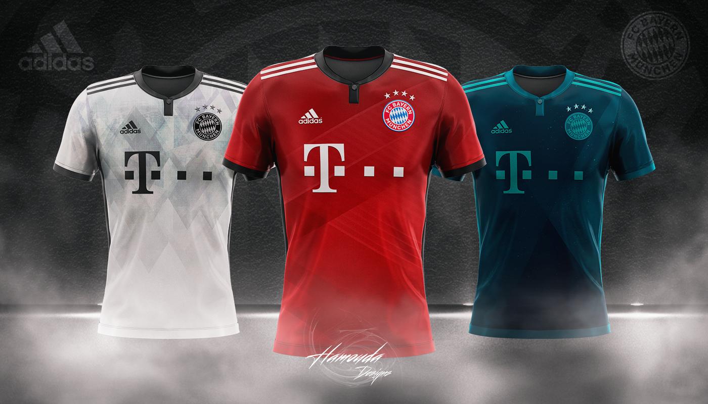 on sale 57efc d69c3 BAYERN MUNICH - Football Concept Kit 2018/2019
