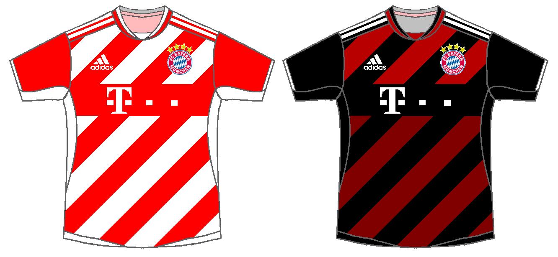 the latest 494ee 72248 Bayern Munich Home & Away Kits