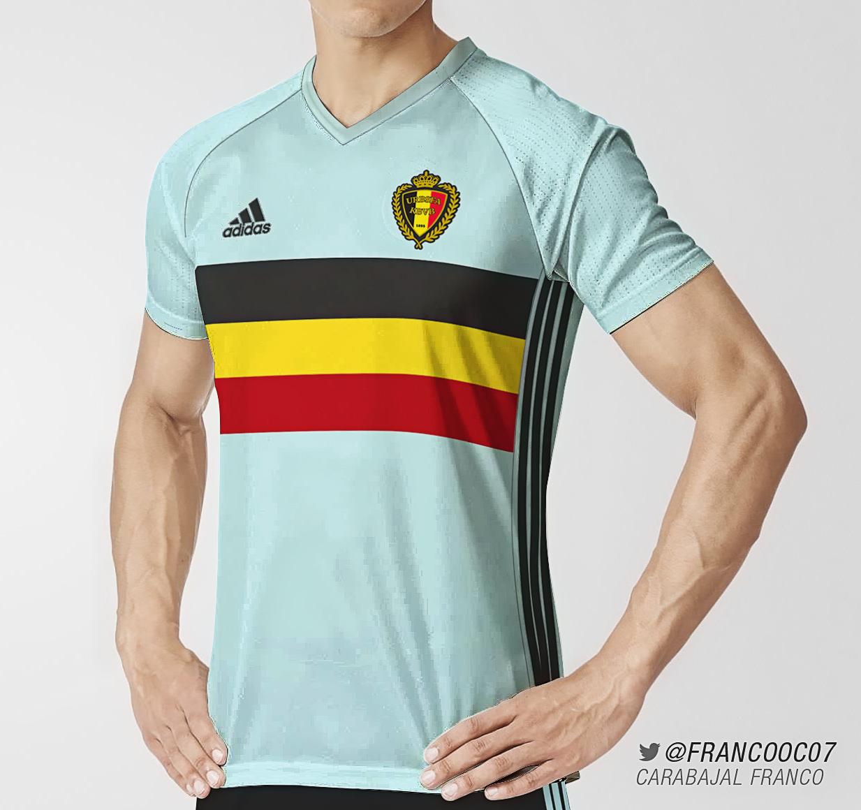 2aa439e5b2b Belgium Away Euro 2016