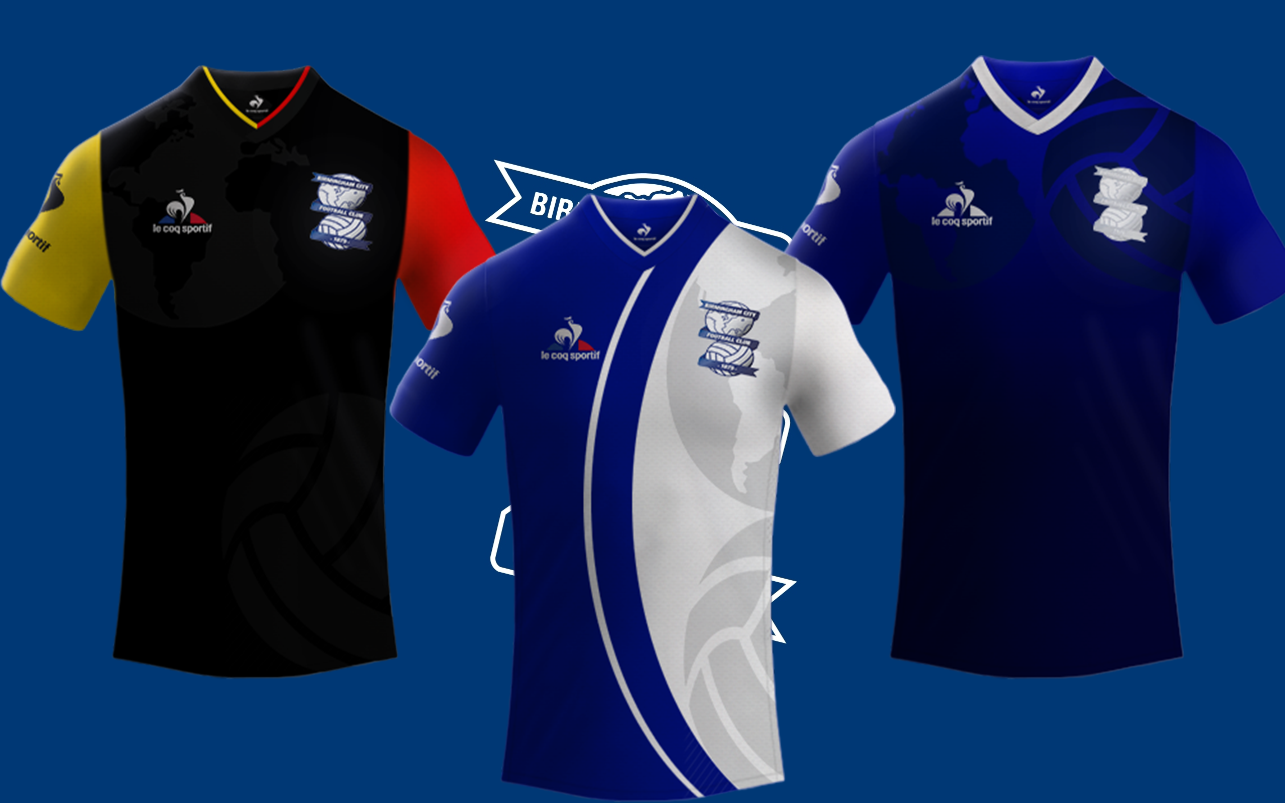 Birmingham City Fc / Le Coq Sportif Kits