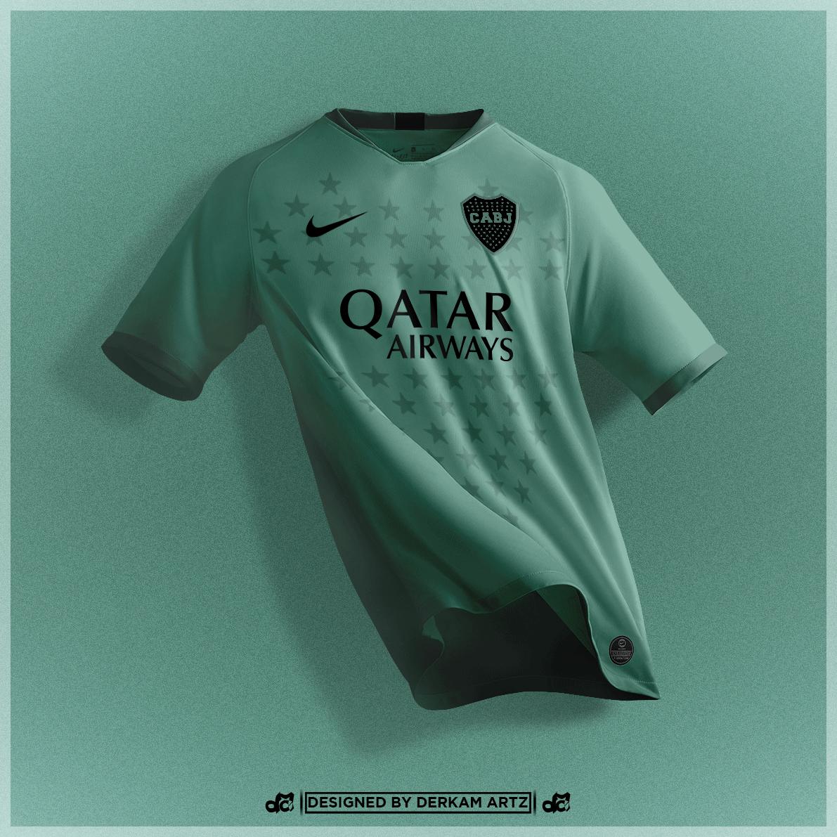 best service 6a75f a33ec Boca Juniors - Third Kit (2019/20)