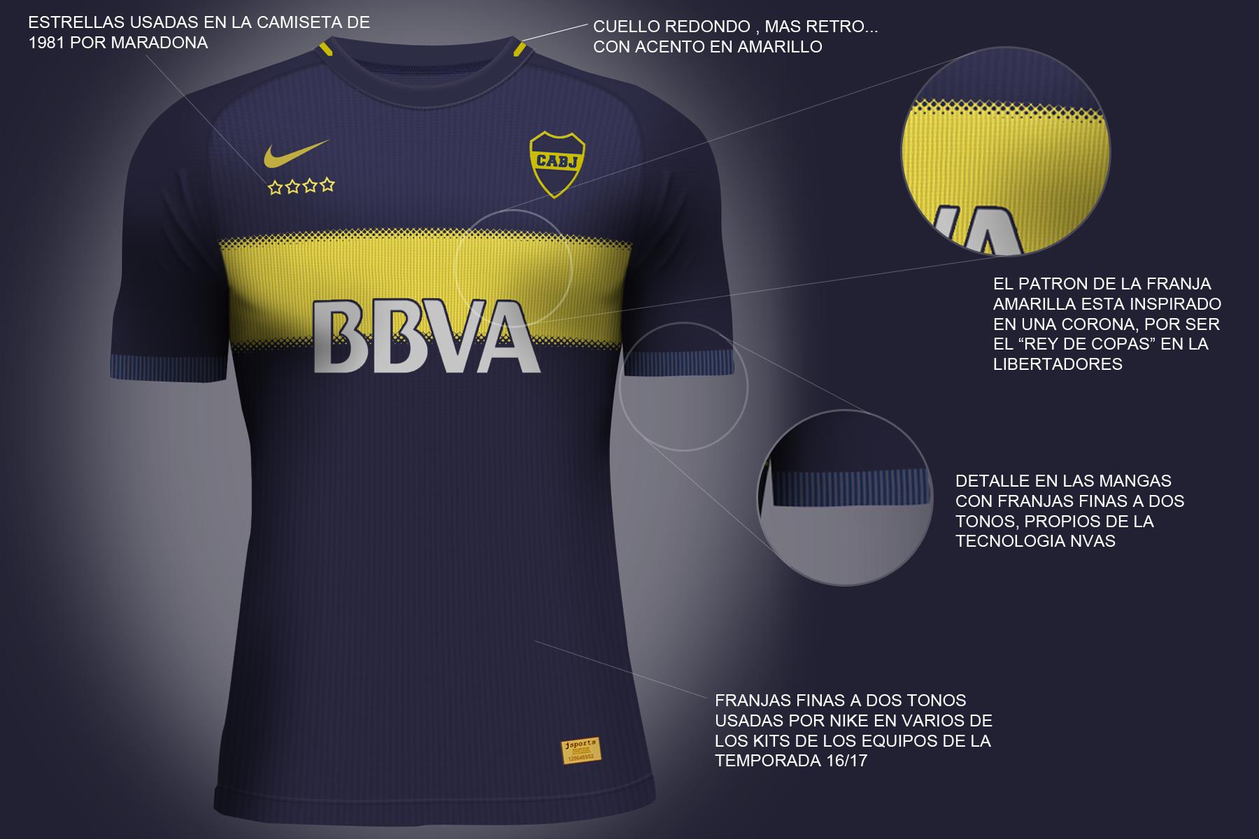 best cheap 47c00 57984 Boca Juniors Nike Vapor Aeroswift