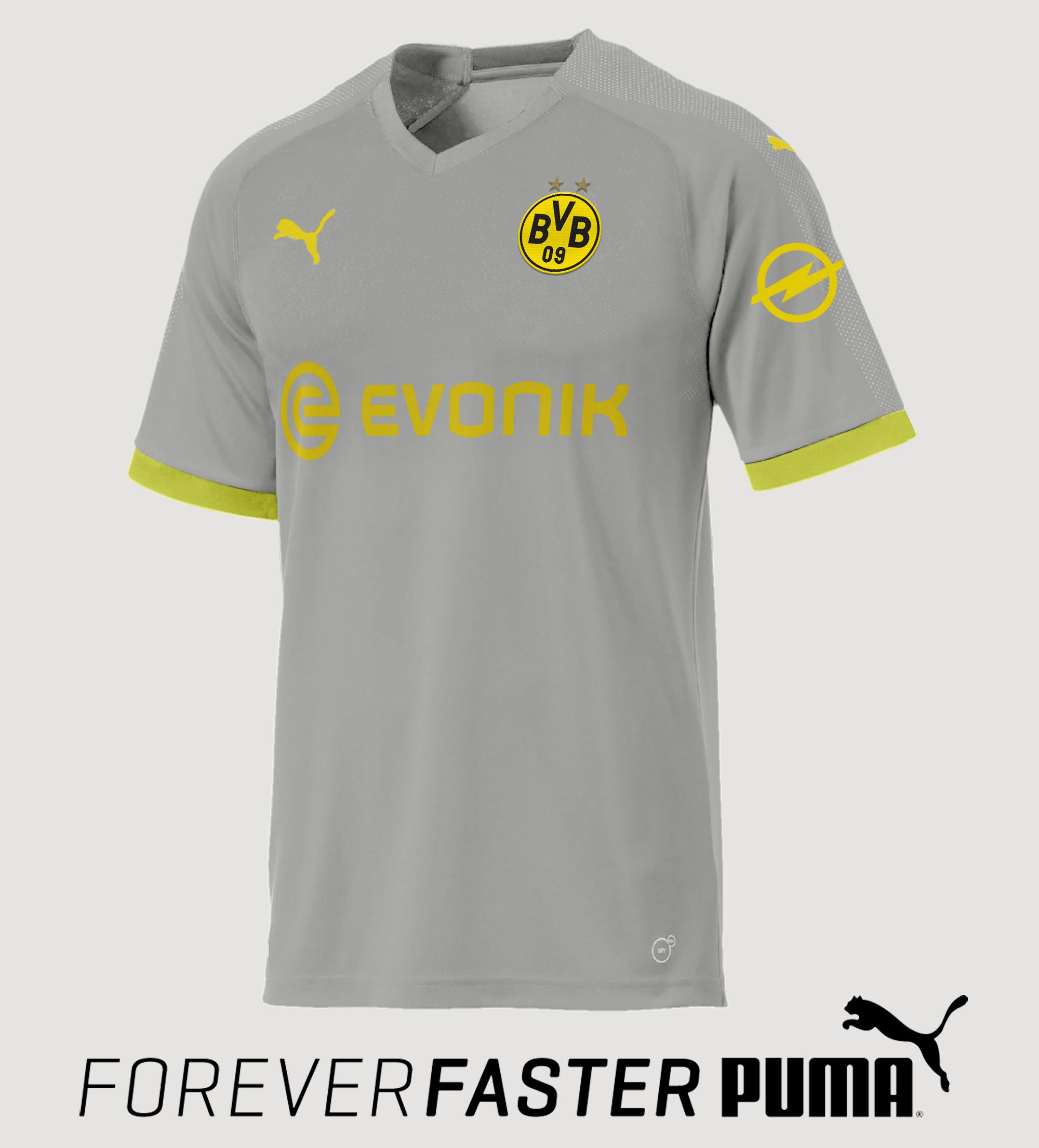 huge discount 31a9f a373a Borussia Dortmund Third 2018/2019