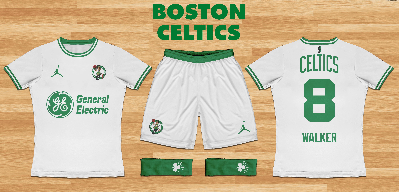 Boston Celtics Home Kit