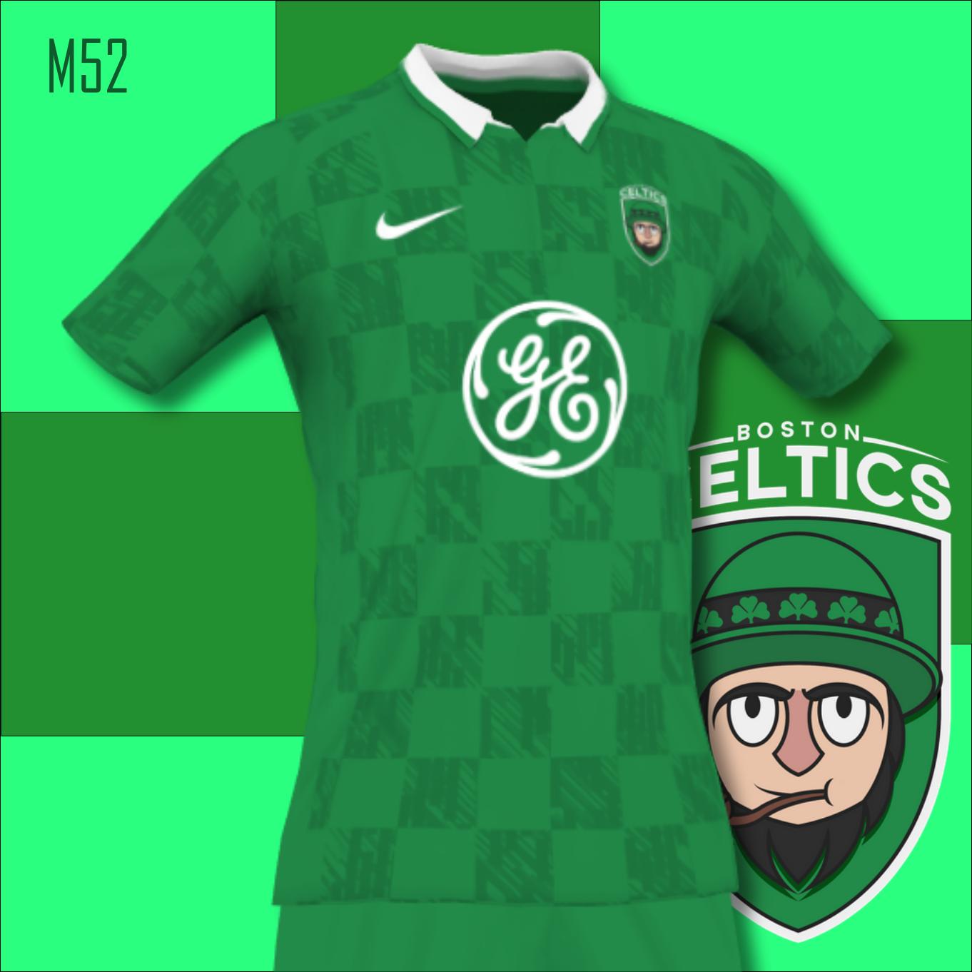 Boston Celtics Concept Soccer Kit