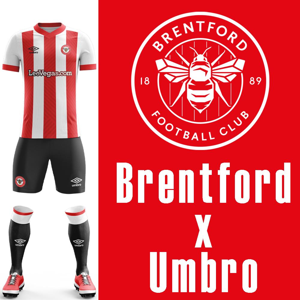 brentford umbro kit