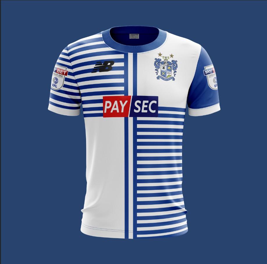 Bury F C  New Balance 2018 Home Kit
