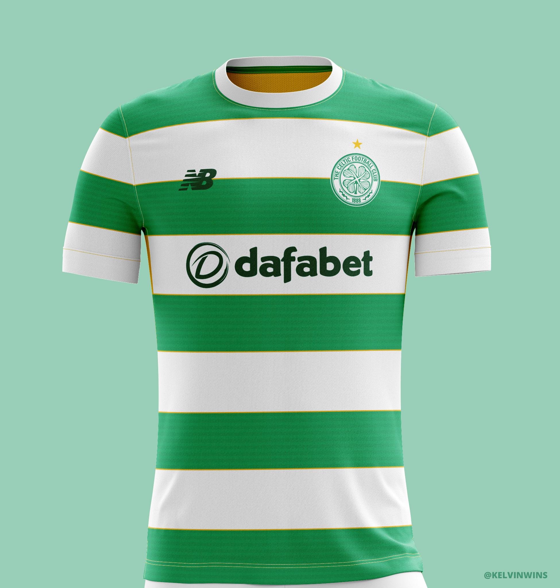 45cbcce18 Celtic - Home Kit Concept  celticfc