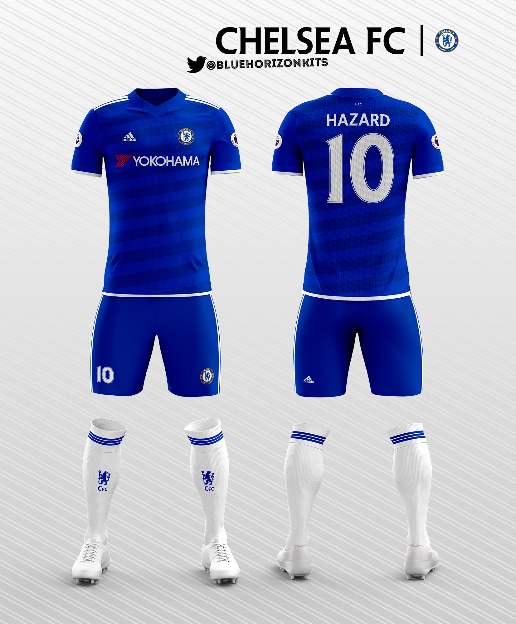premium selection 09d27 52fb0 Chelsea FC Home Kit 2016-17 (Adidas)
