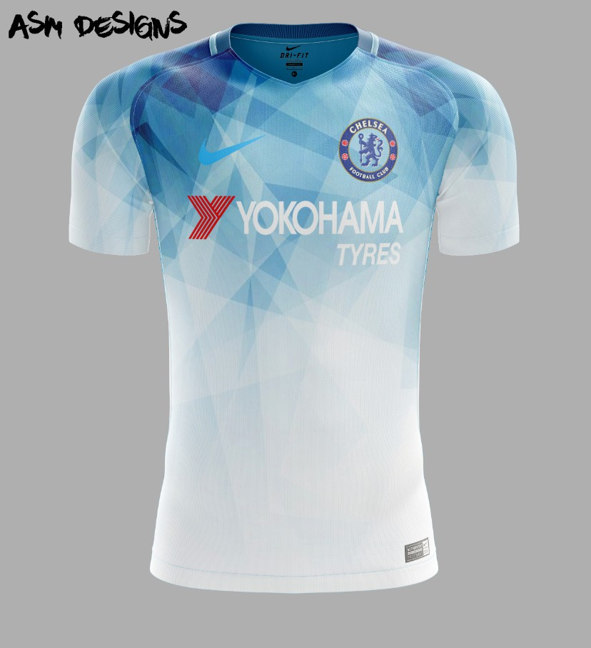 low priced 10f49 f8875 Chelsea FC Nike 2018 Home Kit