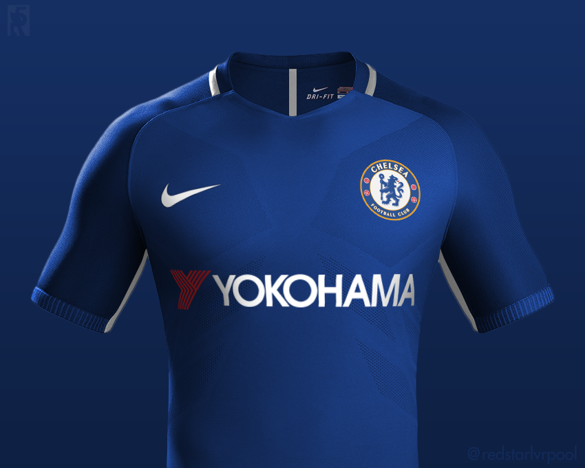 low priced b7bb1 38a07 Chelsea Nike Home Shirt