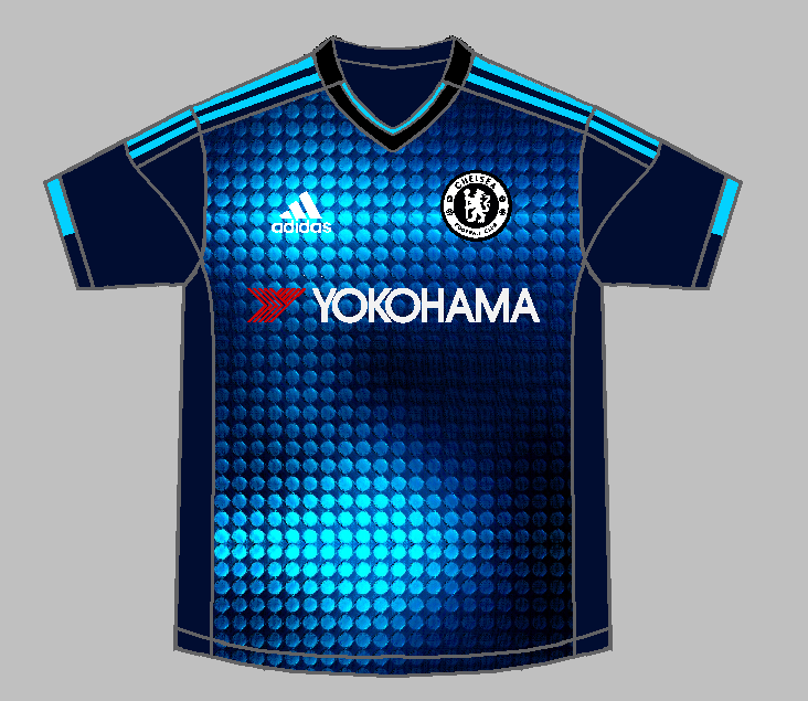 new concept a9105 60d02 Chelsea Third Kit
