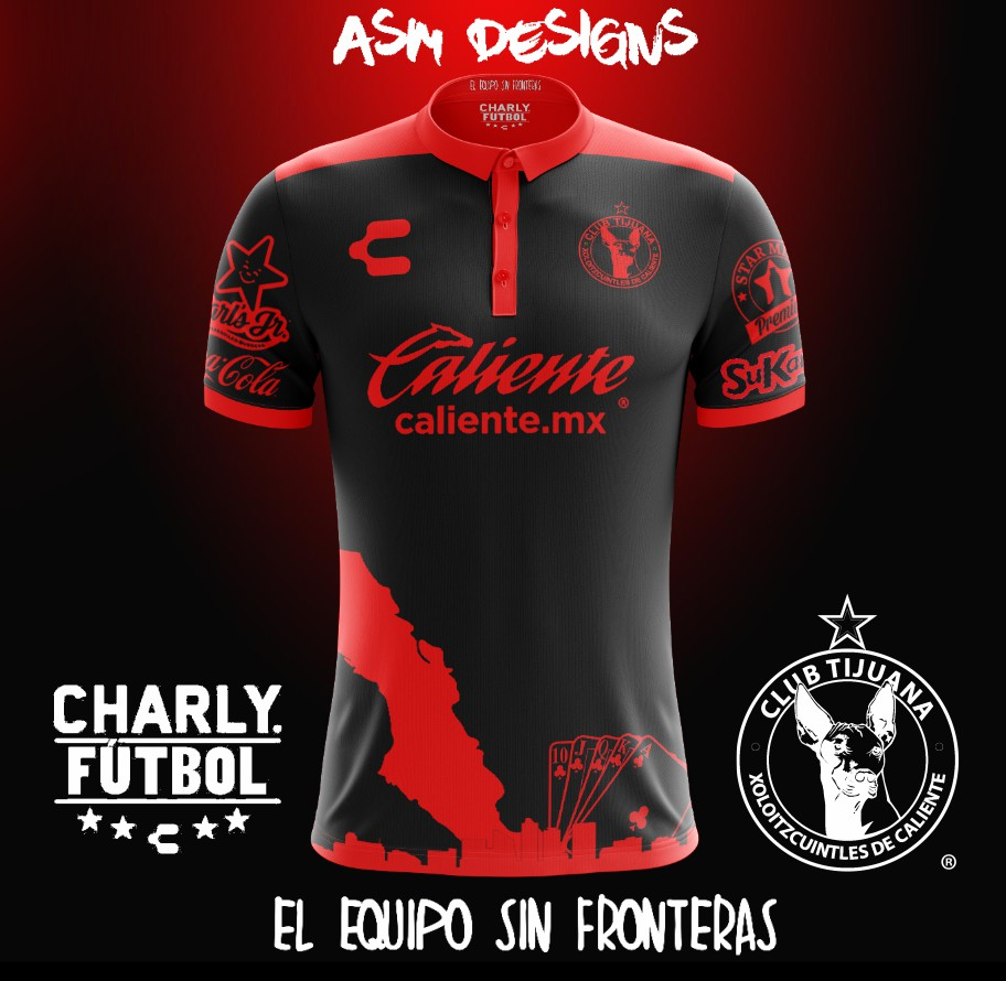 d716a5ecc Club Tijuana Charly 2018 Away Kit