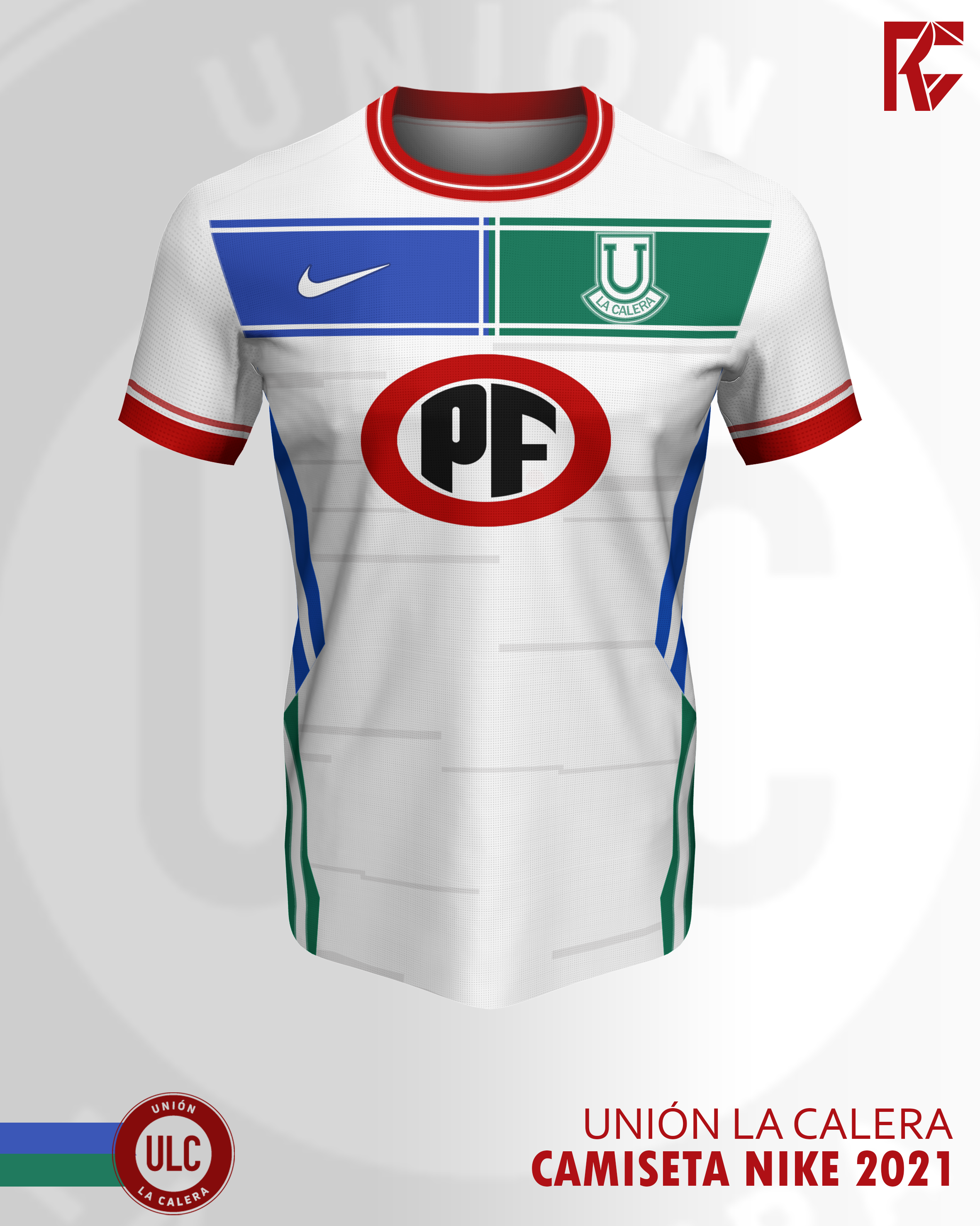 Concepto Ii Union La Calera X Nike Camiseta Visita 2021