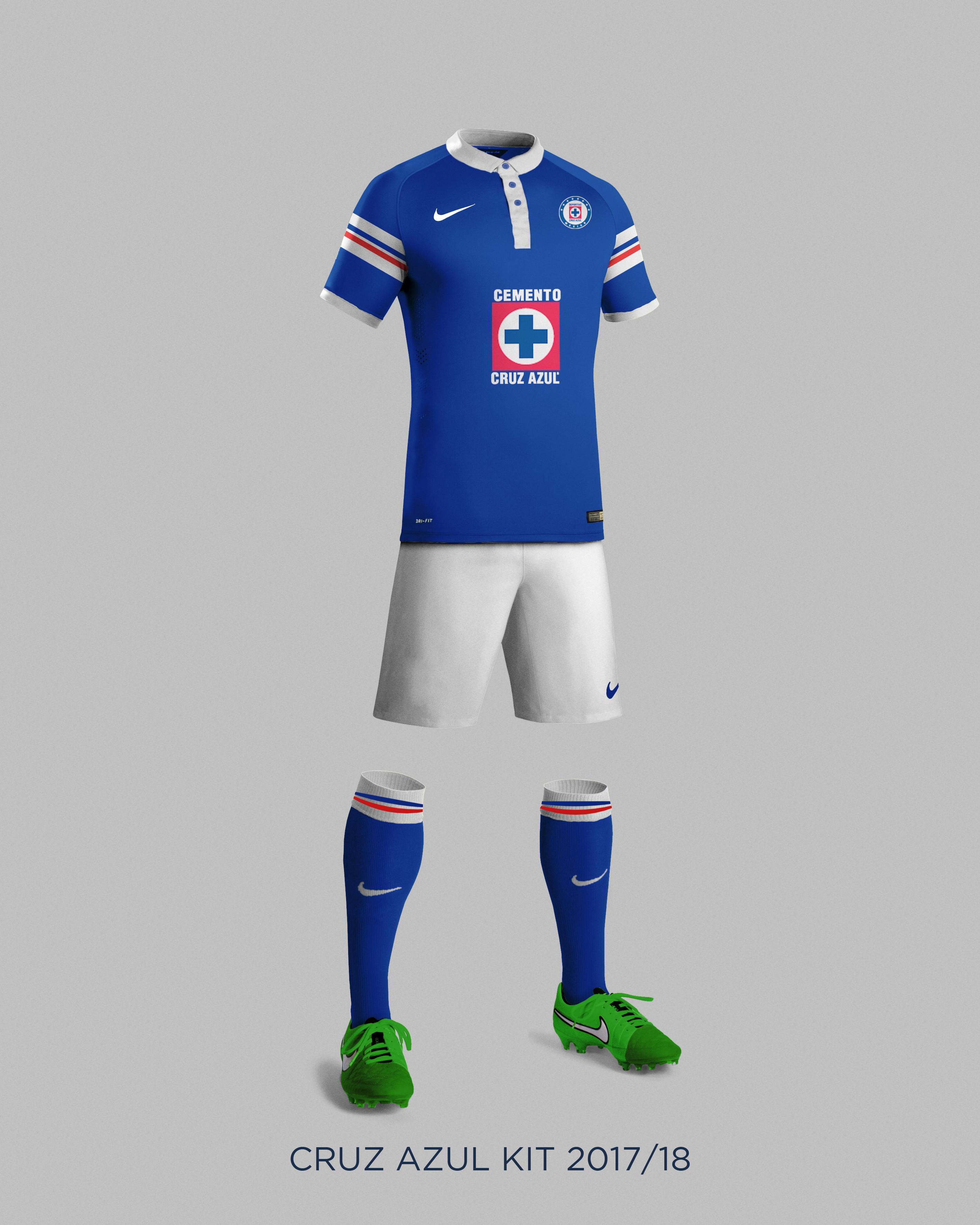 2c1d265d624 Cruz Azul 2018 Concept