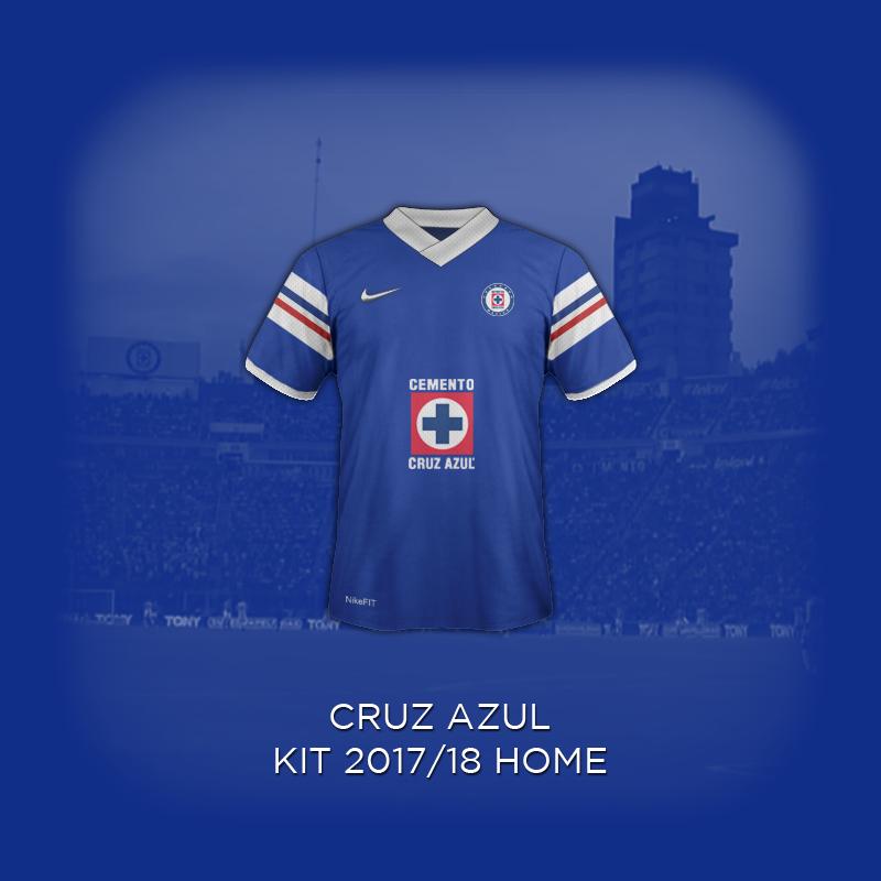 e935bec3e16 Cruz Azul 2018 Concept Home Kit