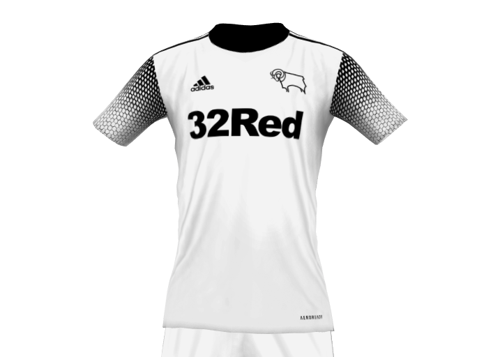 Derby County 21 22 Fantasy Home Kit