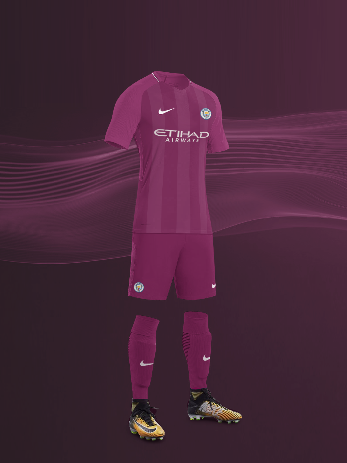 competitive price 5ed88 79114 EPL NIKE KITS REDESIGN :Nike Manchester City Away 2017/18