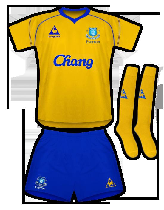 Everton Le Coq Sportif Away