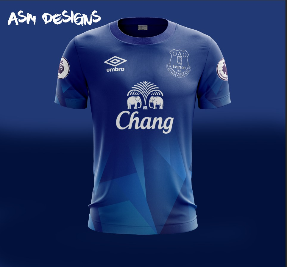 check out 44d9c 4f970 Everton F.C. Umbro 2018 Home Kit