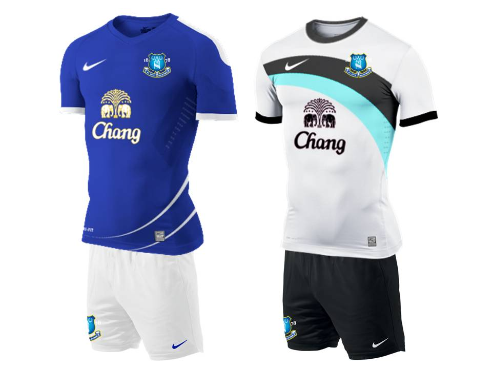 on sale b68f3 2a4df Everton Home and Away