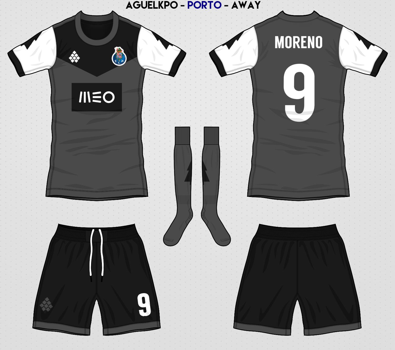 3de6fdfd2ea Fantasy FC Porto Away Kit