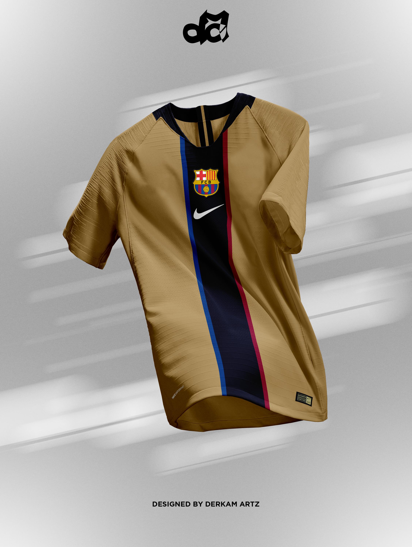 buy popular 478ab 83c8e FC Barcelona - Away Kit (2001-03 Retro)