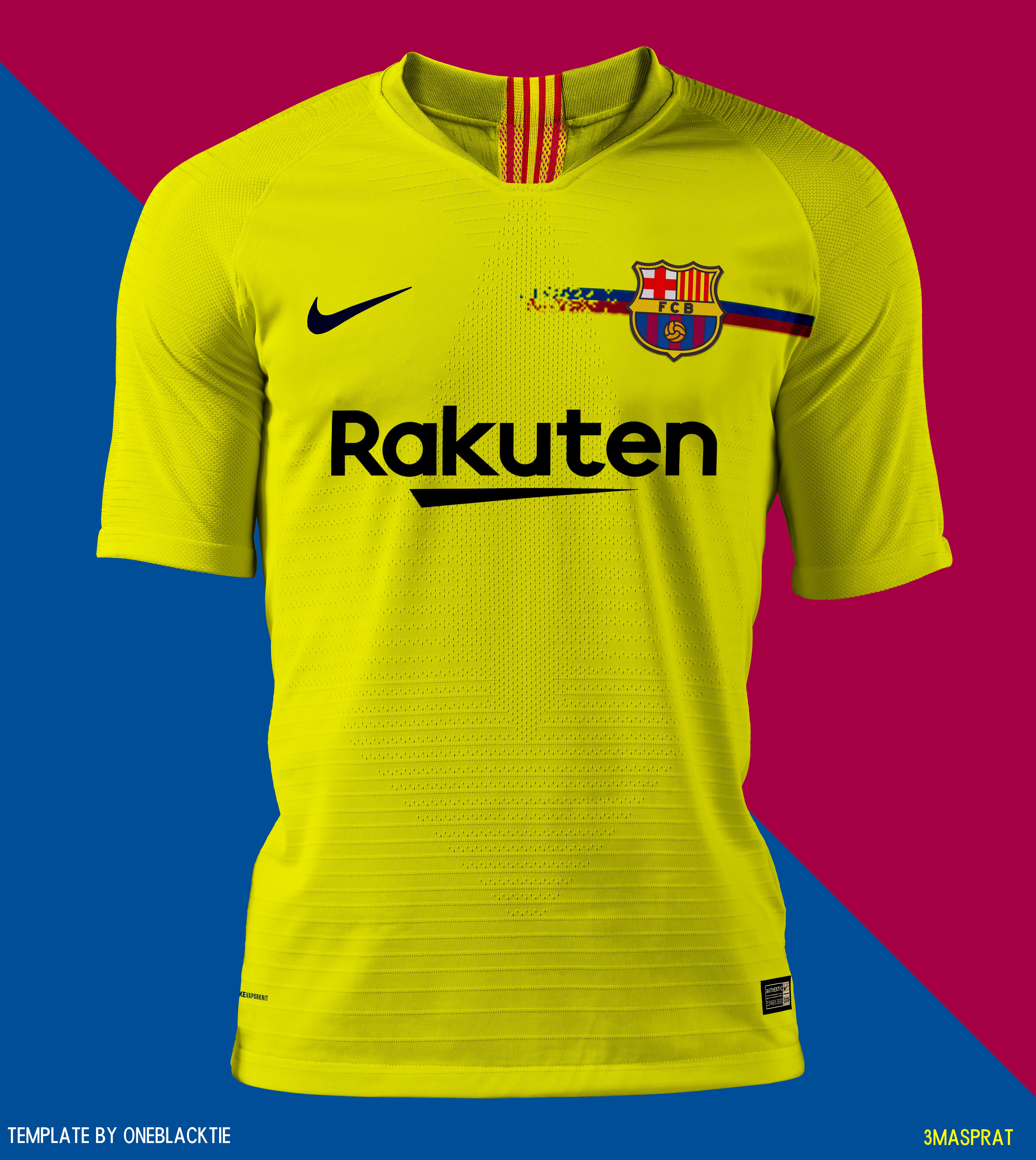 fc barcelona away concept kit design football com