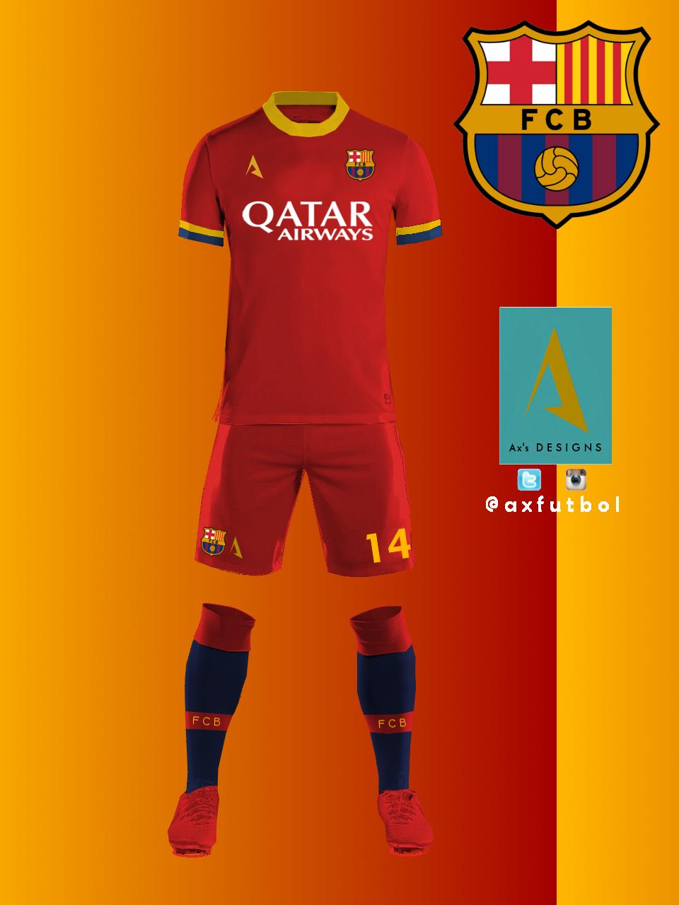 2c2d3baf1bb Kit Relea Fc Barcelona - Querciacb