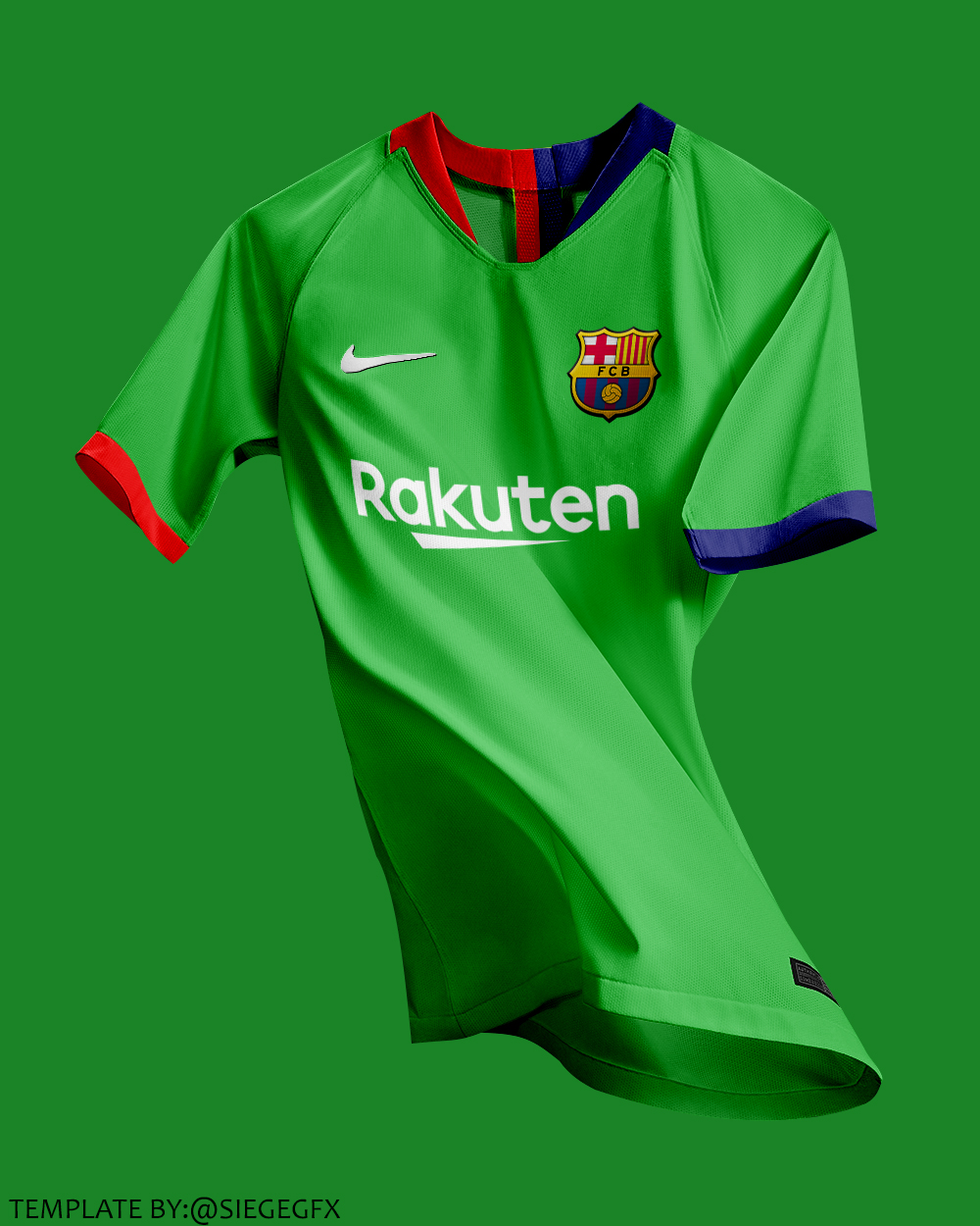 c0a0a605469 FC Barcelona Away Kit Concept