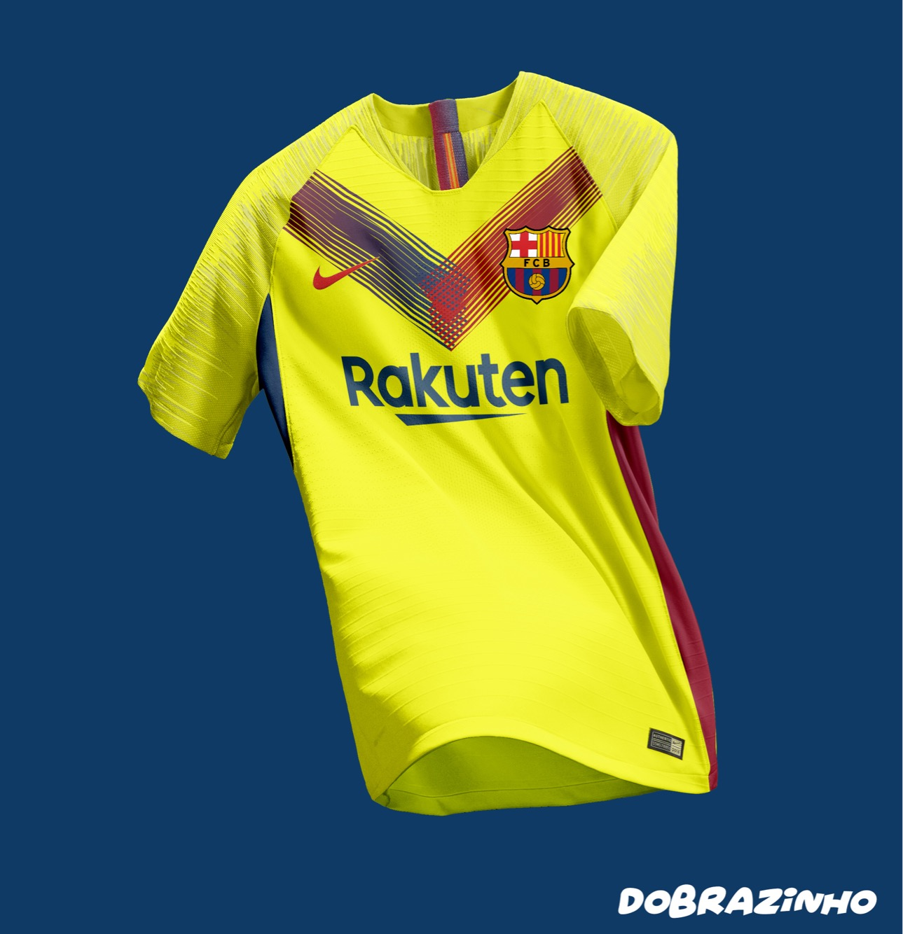 Fc Barcelona Away Kit Concept