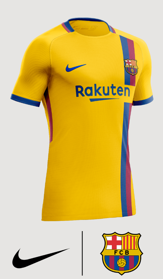 buy online a0549 1c2ab FC Barcelona Away Shirt 2018/2019