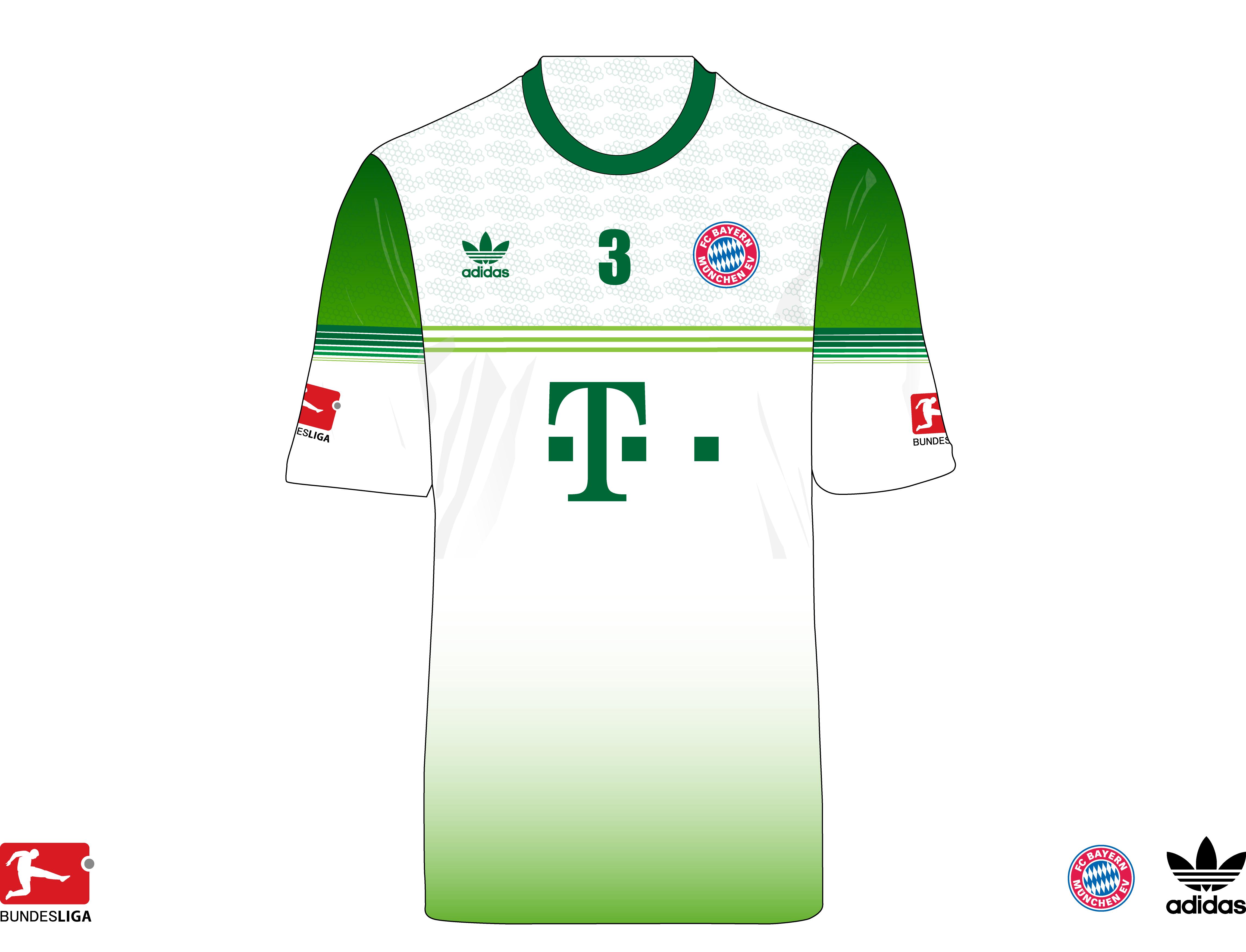 sale retailer 3b215 c4aba FC Bayern Munchen Training Kit Concept 1