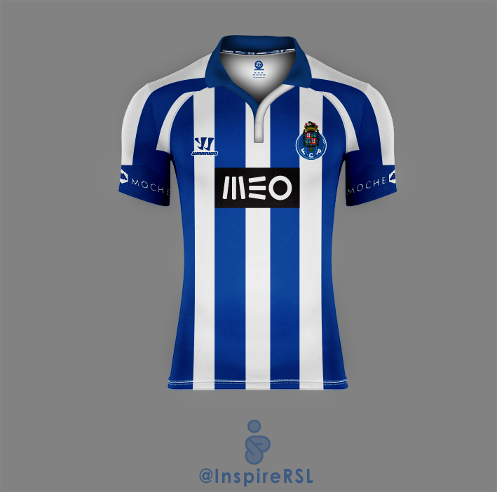 new styles 79956 d6fe9 FC Porto 14/15 Home Shirt (Version I)