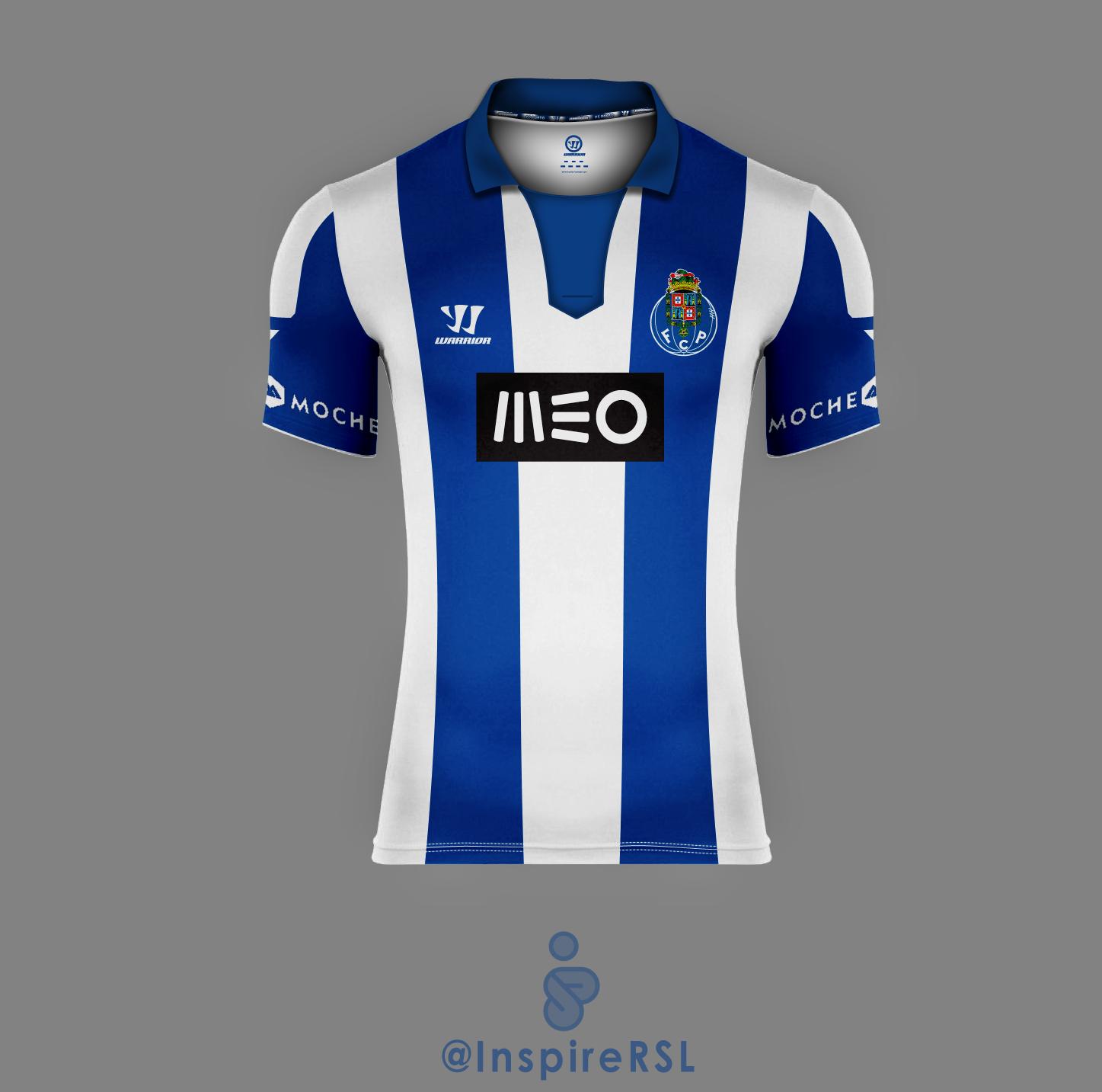 more photos dcb15 741b6 FC Porto 14 15 Home Shirt (Version II)
