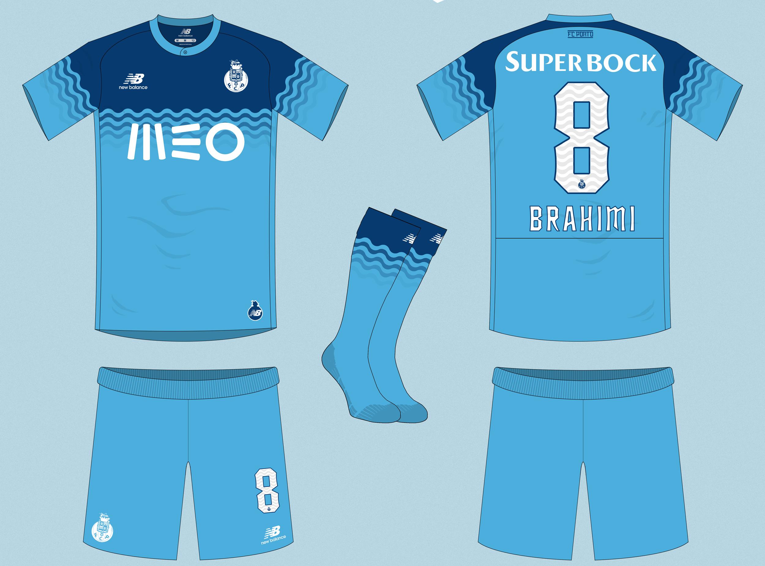 043a1661bd3 FC Porto Away Kit