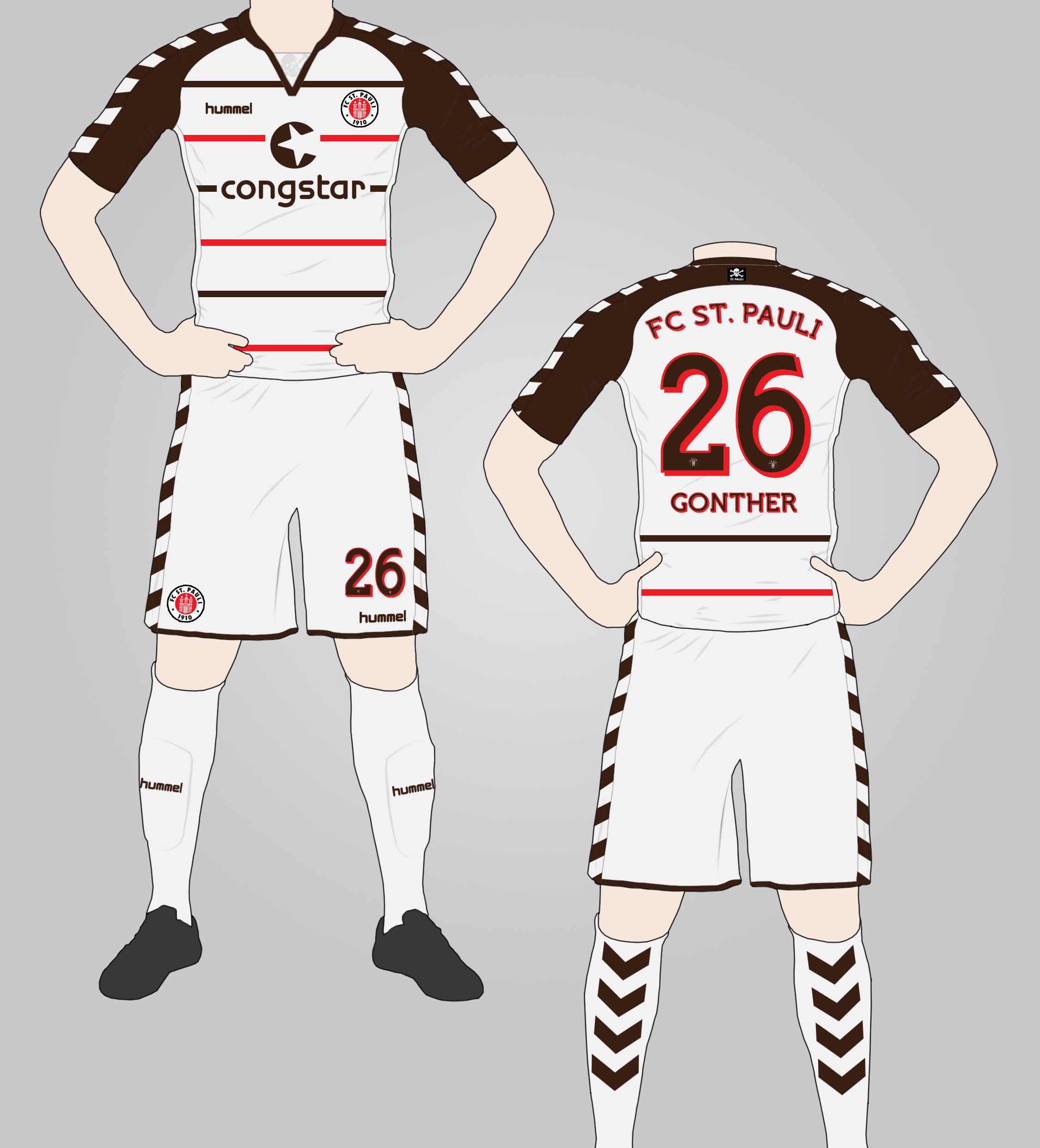 the best attitude 44a00 ce849 FC St. Pauli Away Kit