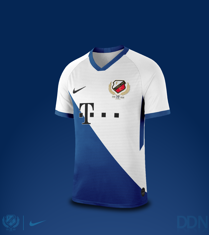Fc Utrecht Fantasy Nike Away Kit 2020 2021