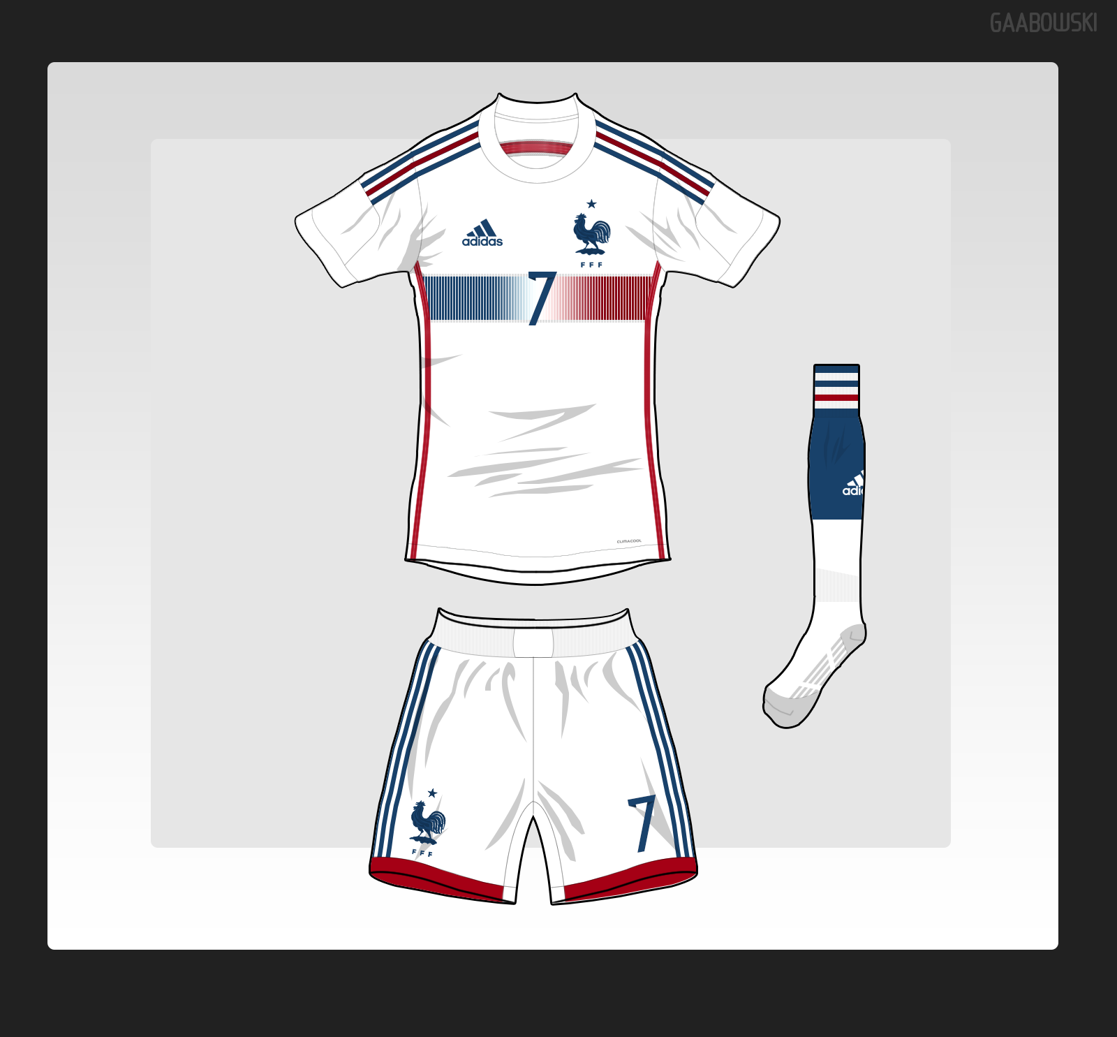 brand new 6571f fa194 France 2014 Away Kit Adidas