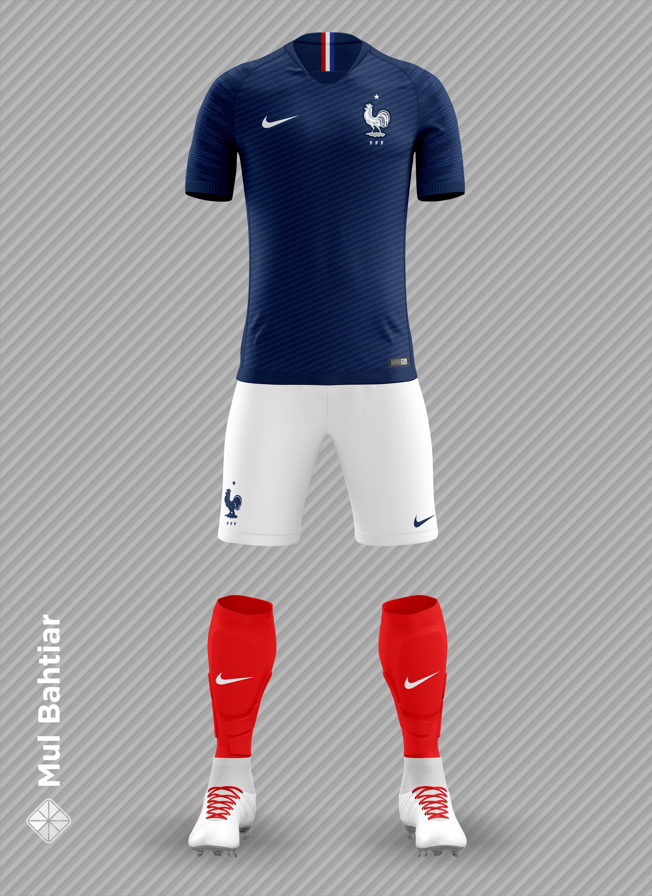 0f4c0b0e3c36a France 2018 FIFA World Cup Home Kit