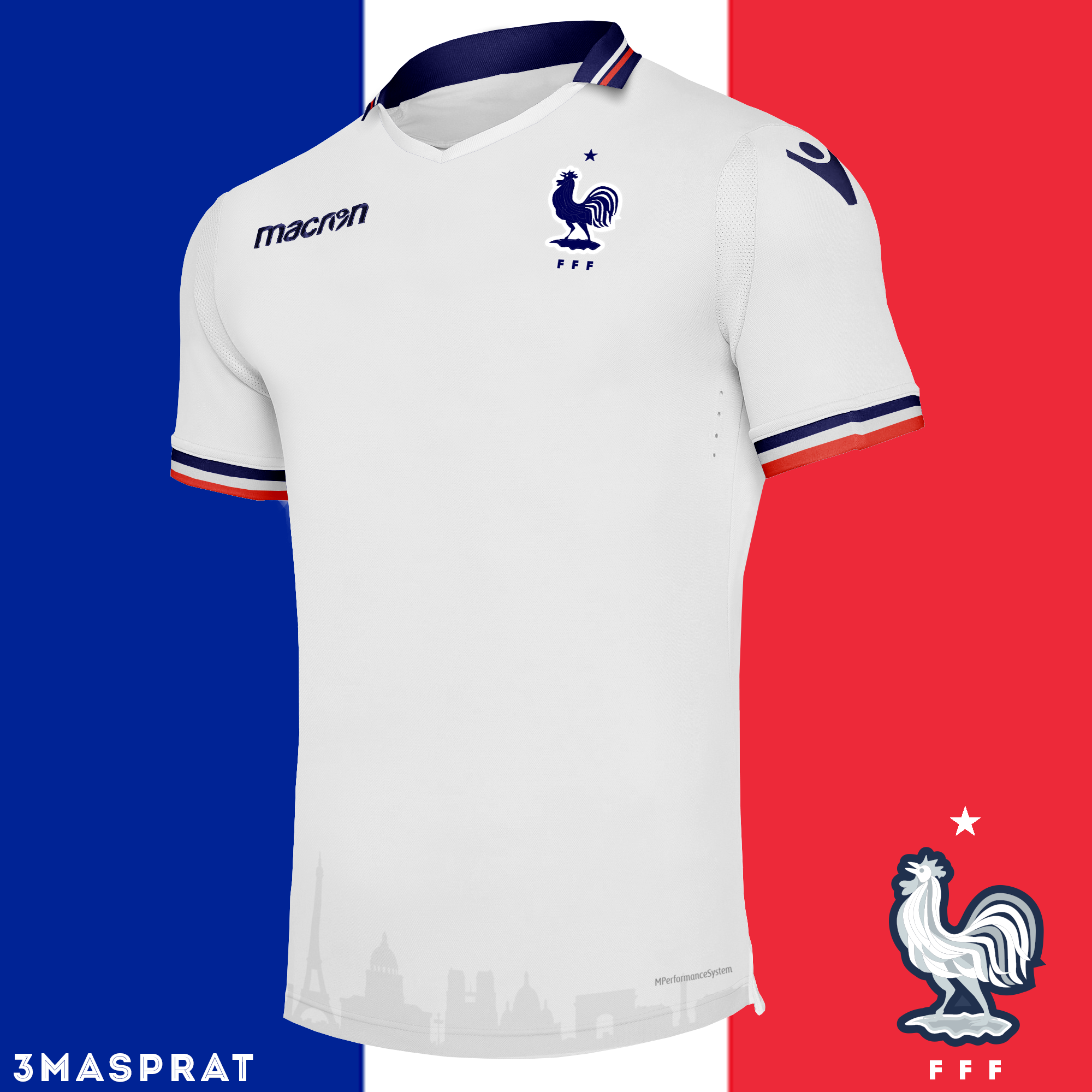 check out bd751 8cf71 France Away Concept Kit