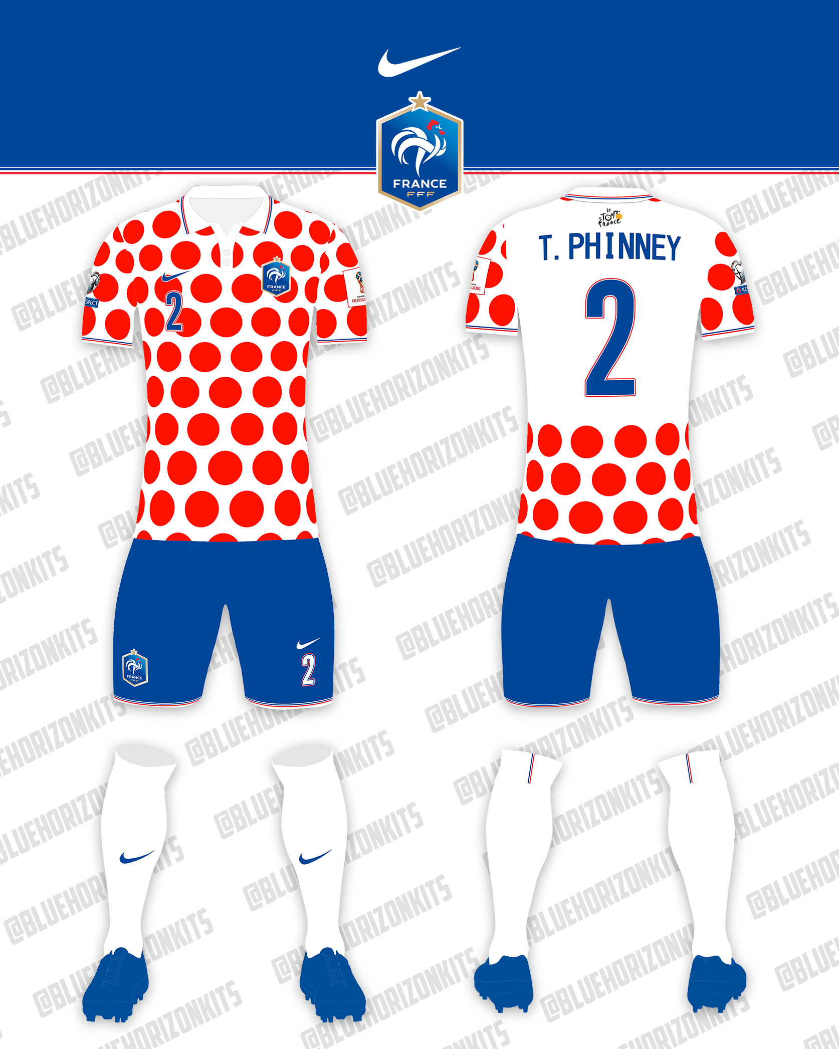 044d69594 France Away Kit (Tour De France inspired)