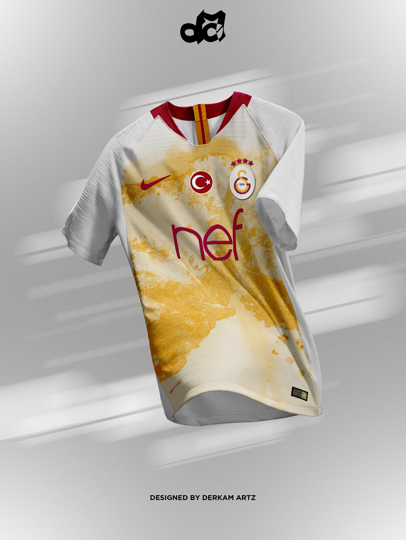 sale retailer da6c1 4e18b Galatasaray - Third Kit (Nike Elite)