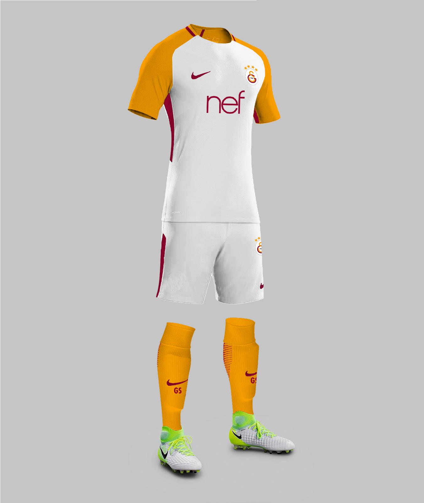 lowest price 3fba7 8ea40 Galatasaray 17/18 Away Kit