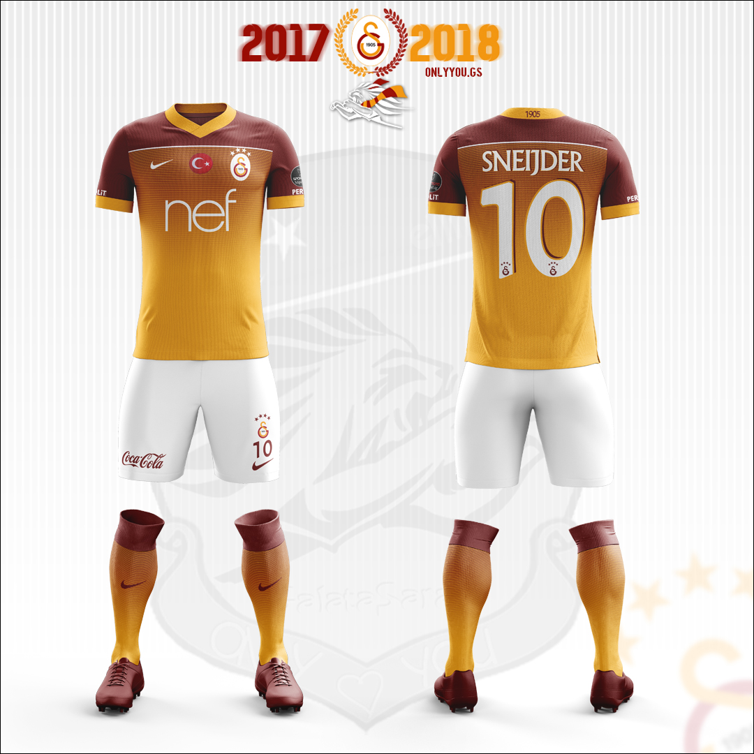 check out 12605 b8d41 Galatasaray * Nike   Away Kit