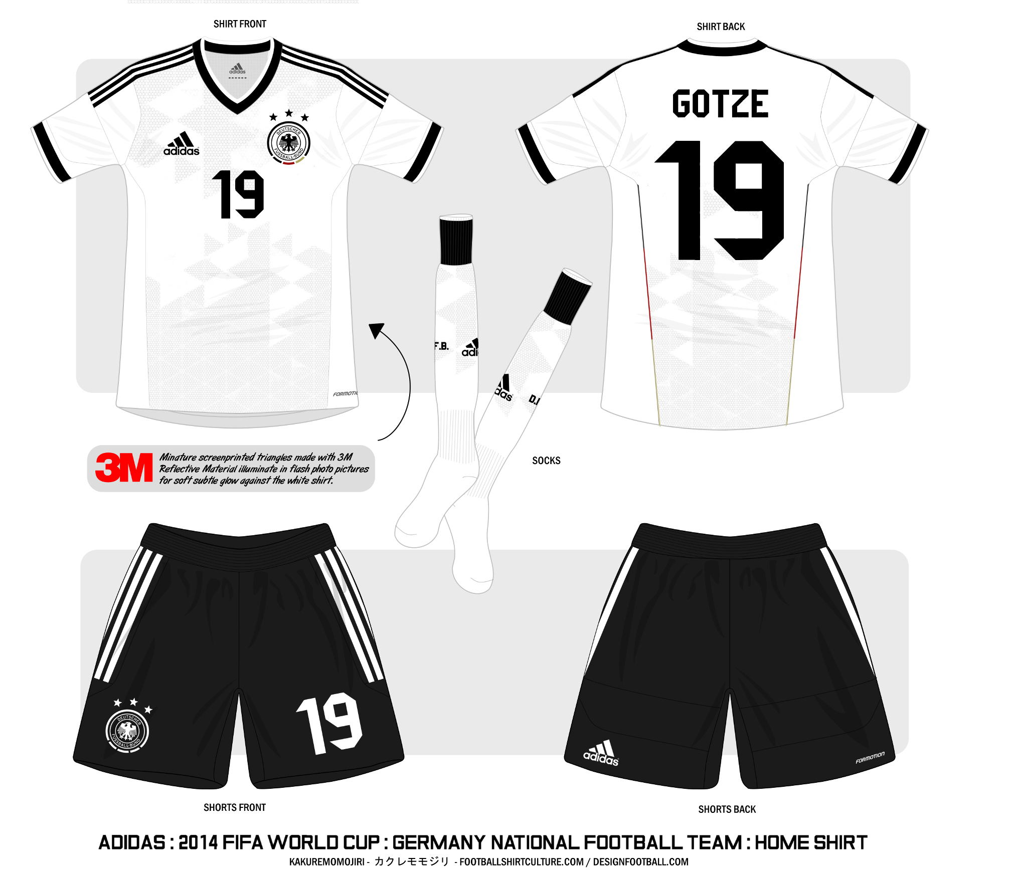 a5d762f2d 2014 FIFA WORLD CUP   Germany National Team   Adidas Home Shirt